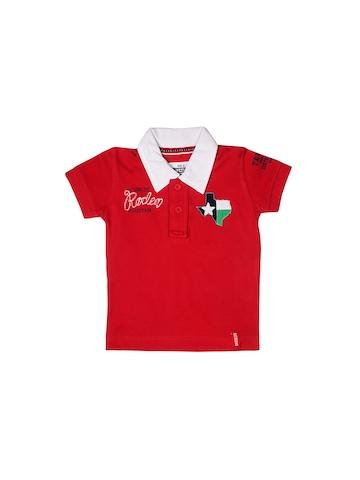 Gini and Jony Boys Red T-shirt