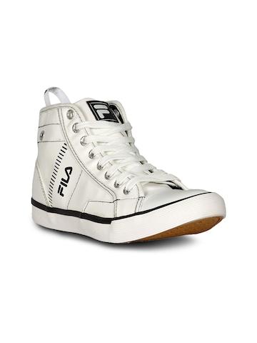 Fila Men's Universe HI White Shoe