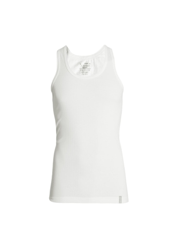 Jockey Men White Innerwear Vest