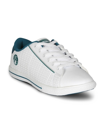 Numero Uno Men's Greenbay Whte Green Shoe