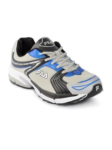 Fila Men Grey & Black Sports Shoes