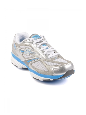 Skechers Women Tone White Sports Shoes