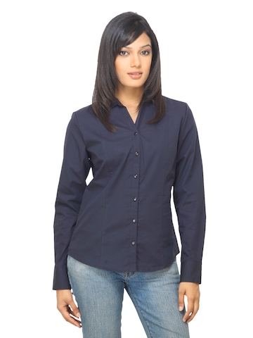 Van Heusen Woman Black Shirt