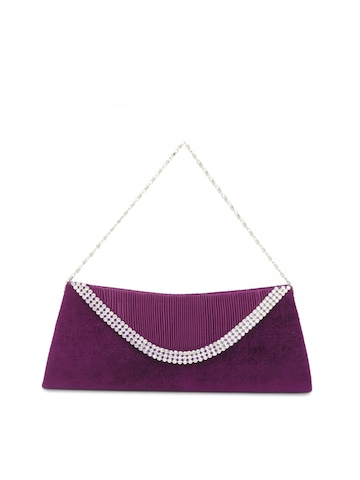 Rocia Women Purple Clutch