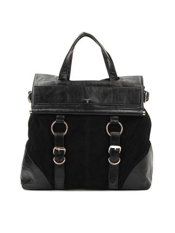 Bulchee Women Black Handbag