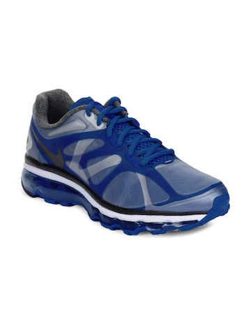 Nike Men Air Max+ 2012 Blue Sports Shoes
