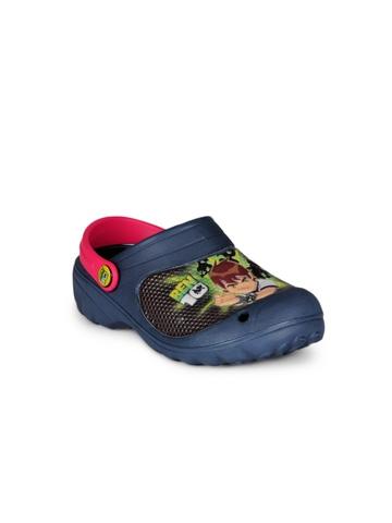 Ben 10 Boys Navy Blue Slippers