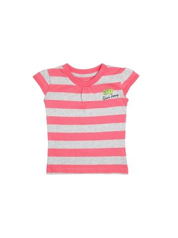 Gini and Jony Girls Kitch Bright Pink Top