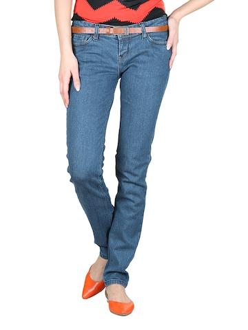 Tokyo Talkies Women Navy Blue Jeans