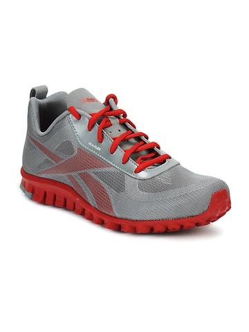 Reebok Men Grey Realflex Breeze Sports Shoes