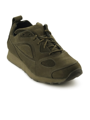 Woodland Men Green Casual Shoes