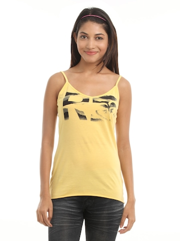 Roxy Women Yellow Top