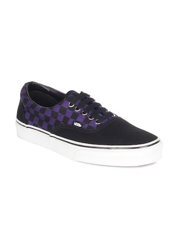 Vans Unisex Black Era Shoes
