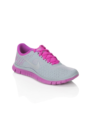 Nike Women Free 4.0 V2 Grey Sports Shoes
