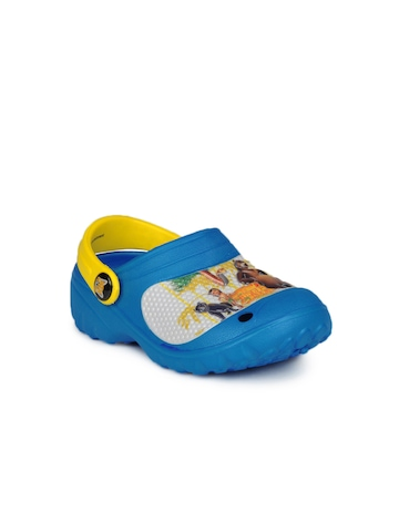 Jungle Book Boys Blue  Slippers