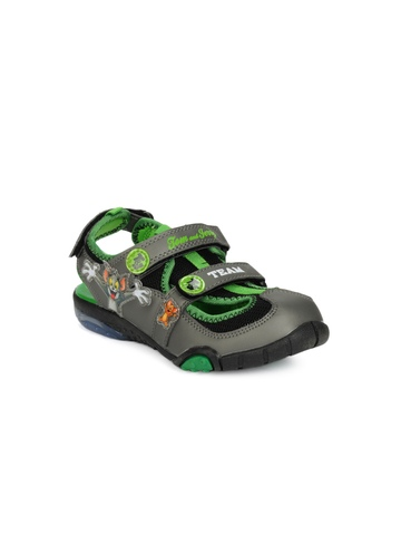 Warner Bros Kids Charcoal sandals