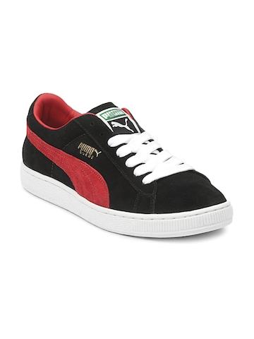 Puma Men Black Suede Archive Eco Shoes