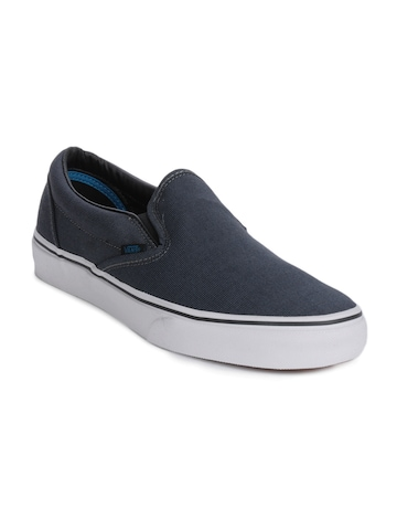 buy vans classic slip on navy blue shoes 288