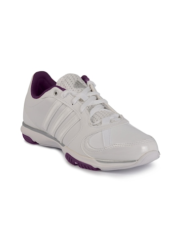 Adidas Women Core 50 White Sports Shoes