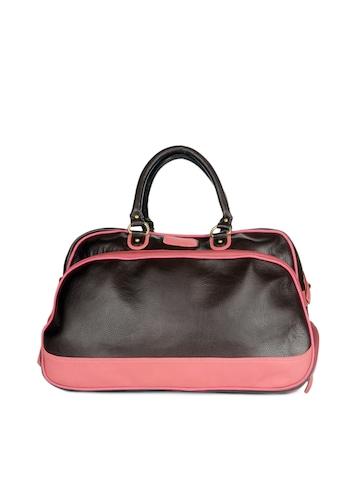 Paridhan Unisex Brown Duffle Bag