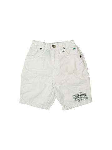 Gini and Jony Boys Beach White Shorts