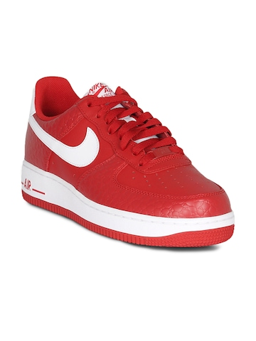 Nike Men's Air Force Red Shoe