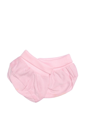 Madagascar 3 Infants Girls Pink Booties