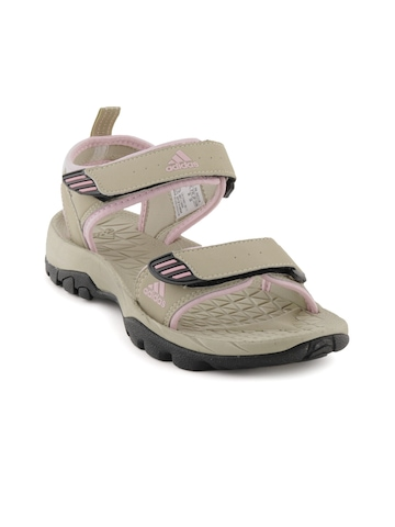 Adidas Women Hispana Beige Sandals