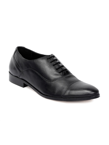 Stens by Enroute Men Black Formal Shoes