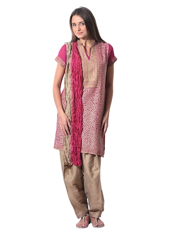 Aneri Women Magenta Salwar Suit