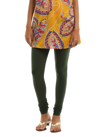 Vishudh Green Leggings
