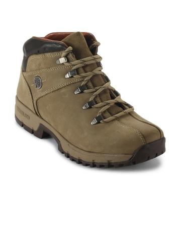 Woodland Men Khaki Casual Shoes