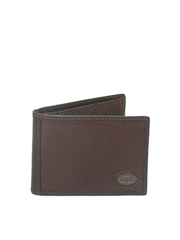 Fossil Men Brown Wallet