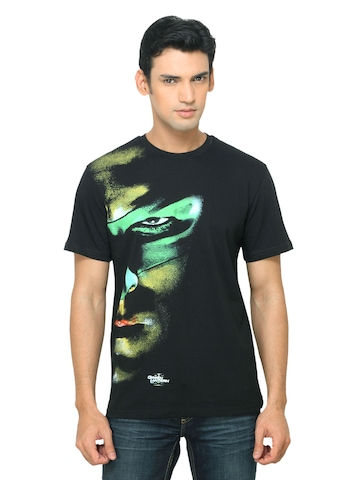 DC Comics Men Green Lantern Black T-shirt