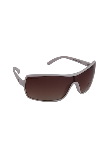 Fastrack Unisex Hip Hop Brown Sunglasses