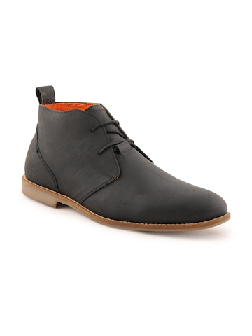 Ganuchi Men Casual Black Casual Shoes