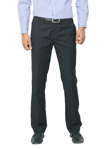 Genesis Men Black Trousers