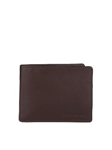 Peter England Men Brown Wallet