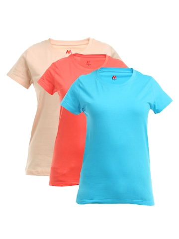Myntra Women Pack of 3 T-shirts