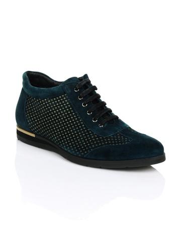 Cobblerz Men Teal Blue Casual Shoes