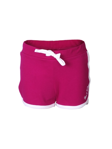 Gini and Jony Girls Core Magenta Shorts