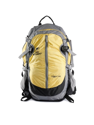 Wildcraft Unisex Gear for Life Yellow Backpack