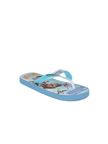 Warner Bros Kids Unisex Blue Flip Flops