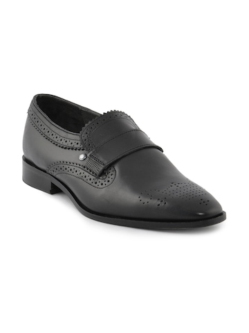 Enroute Men Formal Black Formal Shoe