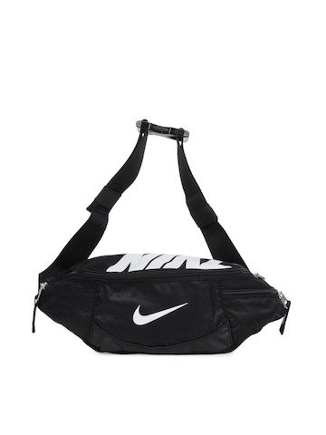 Nike Men Team Training Black Waist Pouch