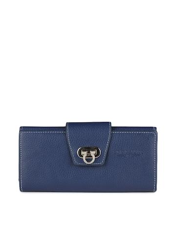 Lino Perros Women Blue Wallet