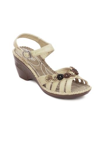Cobblerz Women Beige Sandals