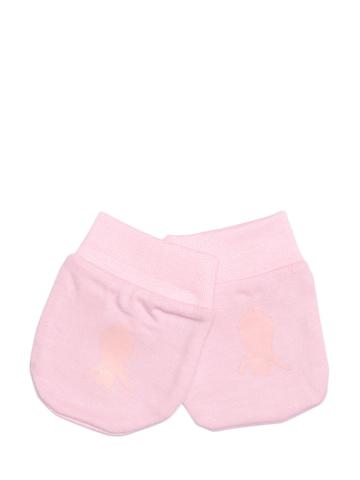 Madagascar 3 Infants Girl Pink Mittens