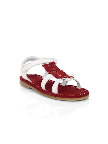 Enroute Teens Red Sandals