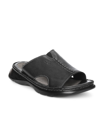 Ganuchi Men Black Sandals